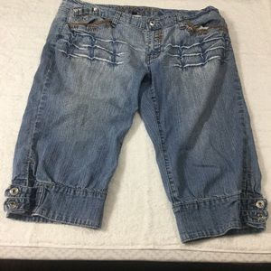 Apollo cropped jeans Junior Plus Size 13/14